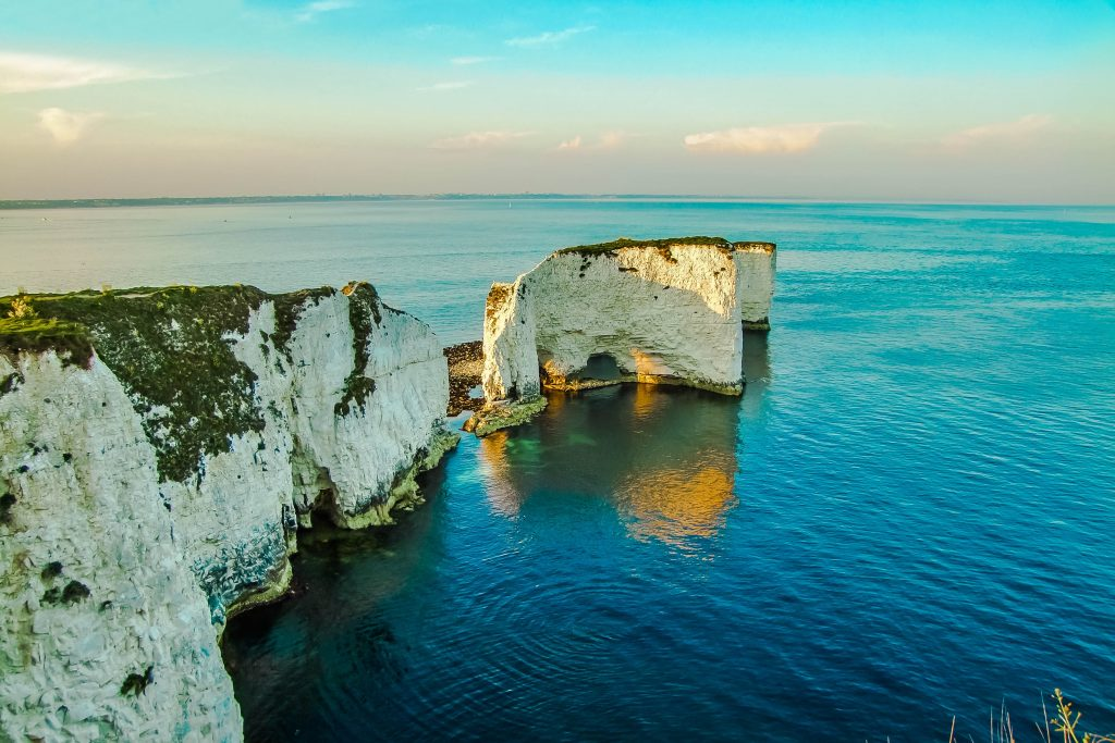 Old Harry Rocks Dorset England