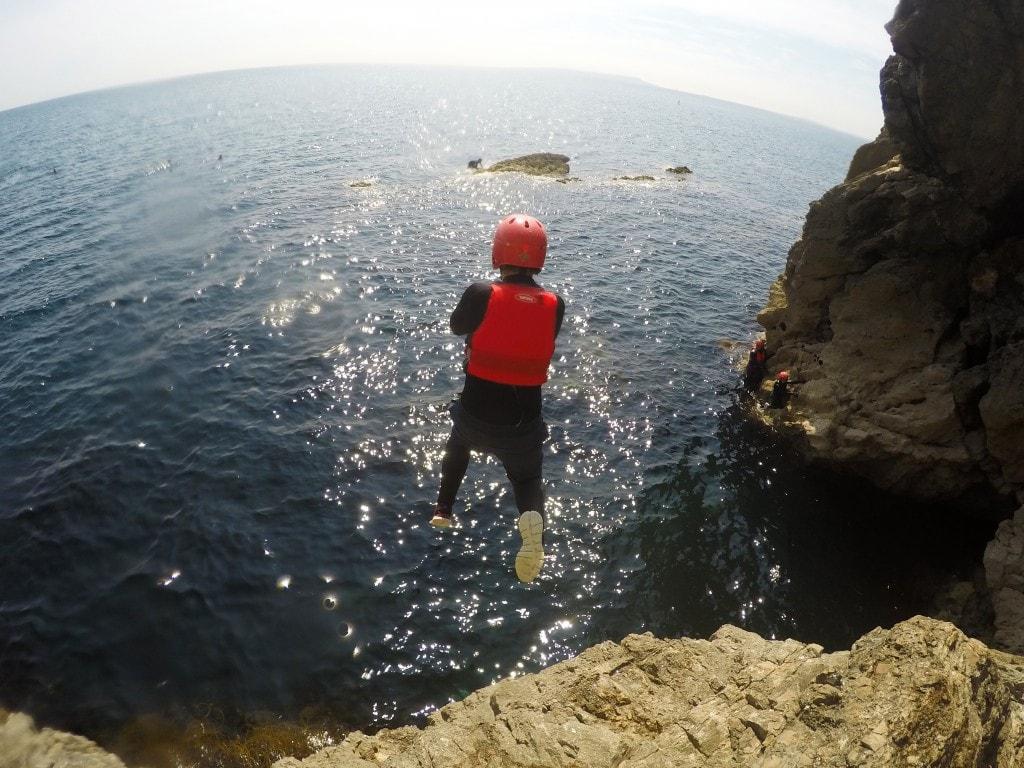 coasteering lulworth cove