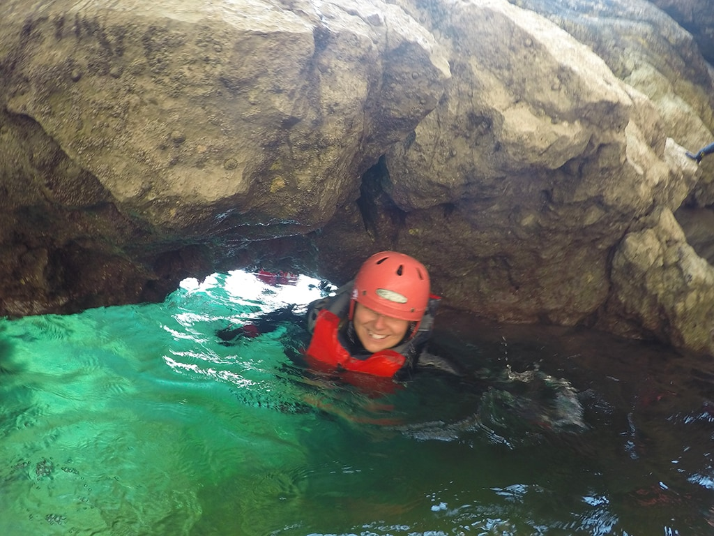 coasteering dorset england