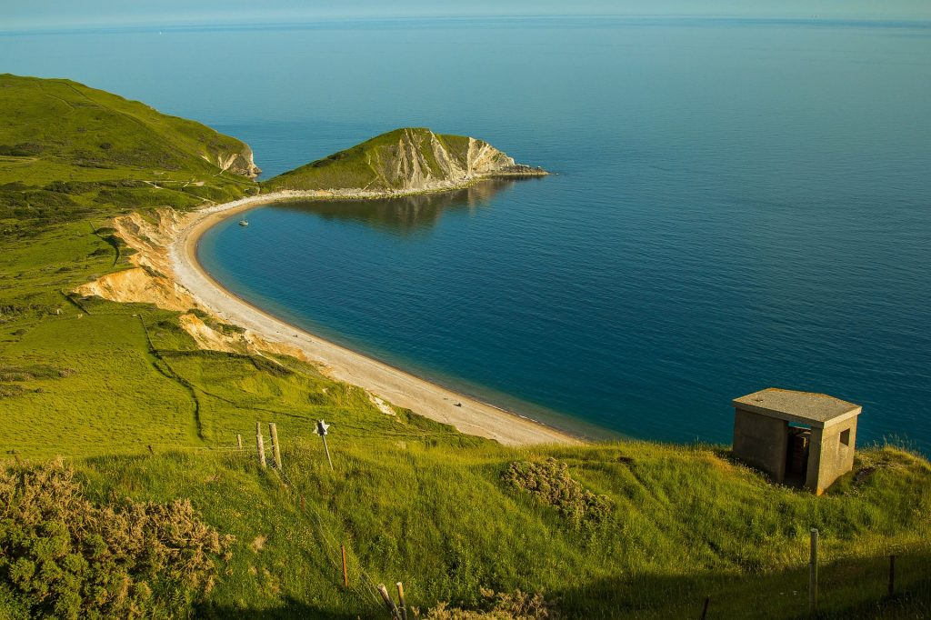 Dorset Jurassic Coast Worbarrow Bay