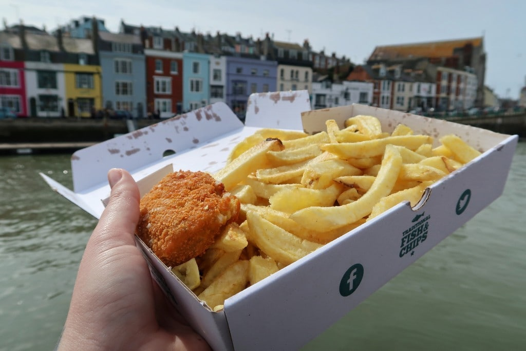 Fish and Chips by harbour