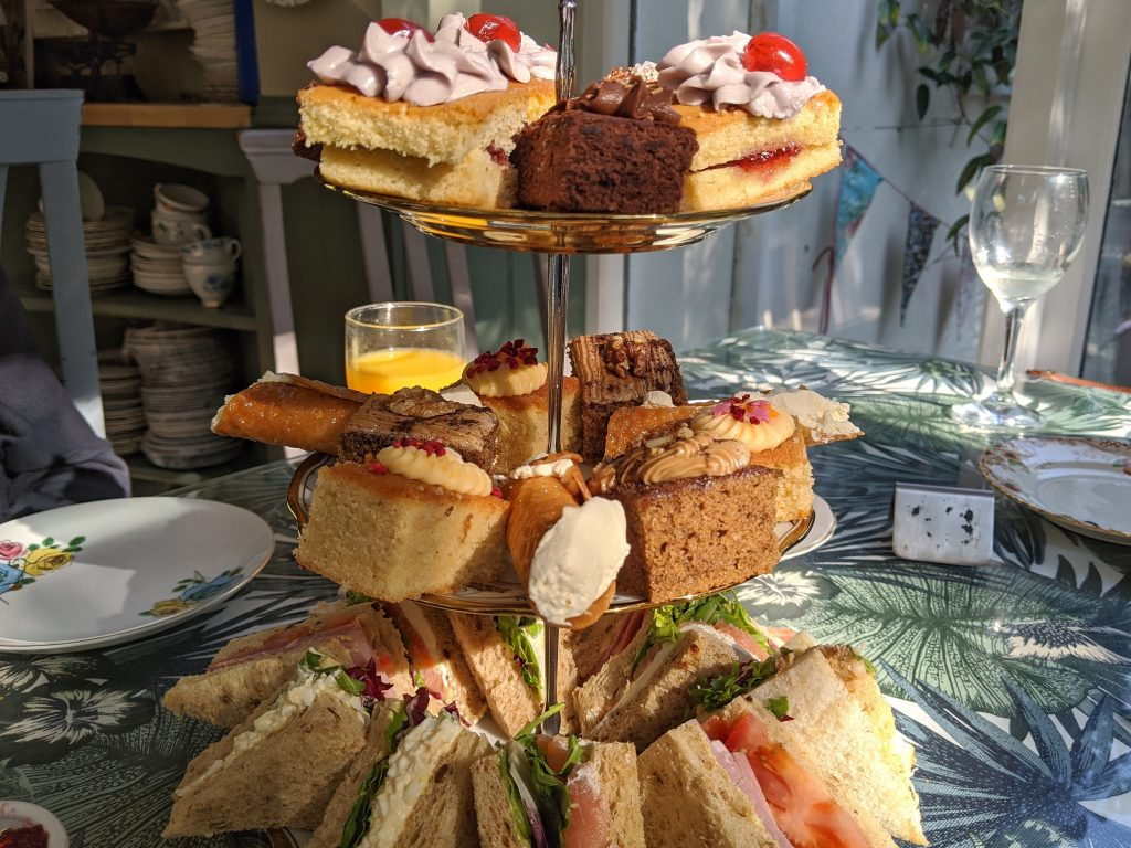 Afternoon Tea Wishing Well Upwey Weymouth