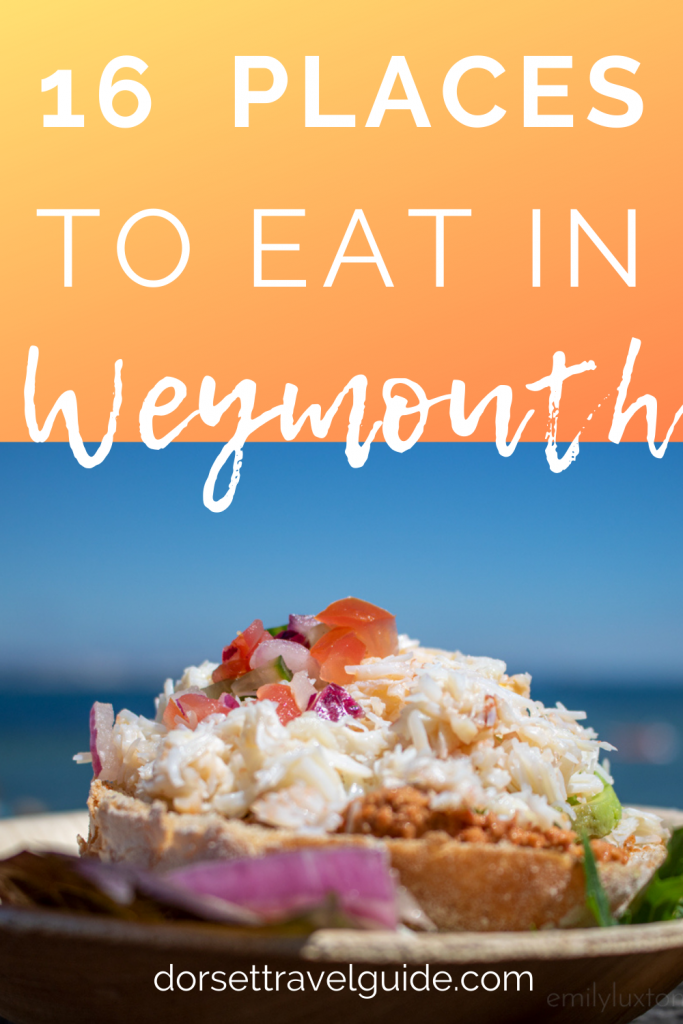 Places to Eat in Weymouth UK