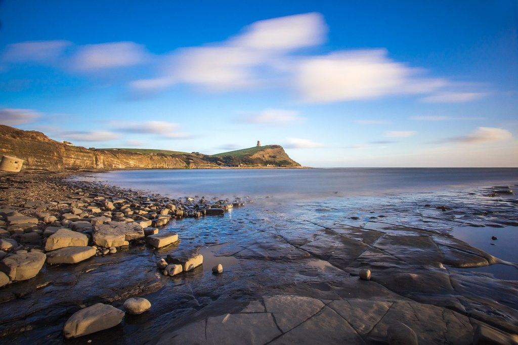 Kimmeridge Bay Dorset coast walks