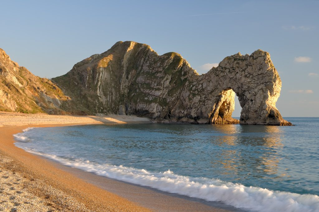 Dorset Coast Walk from Lulworth to Durdle Door