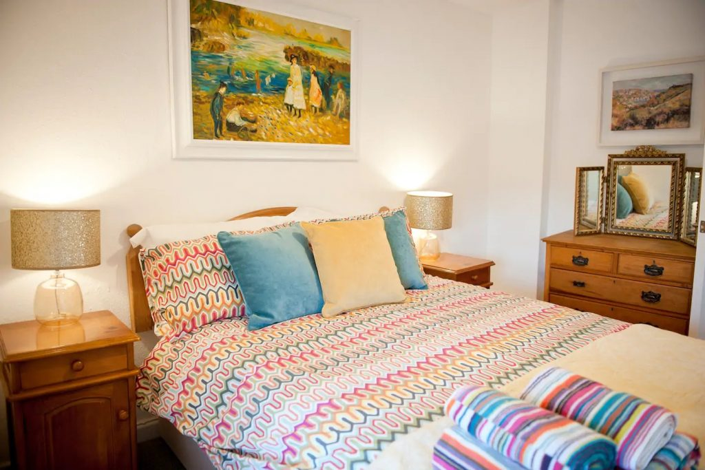 Bedroom at SunRise Holiday Rental