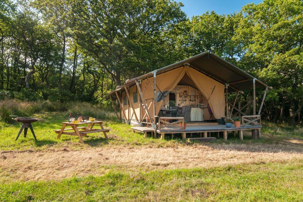 Deerland Safari Tent Beaminster Dorset