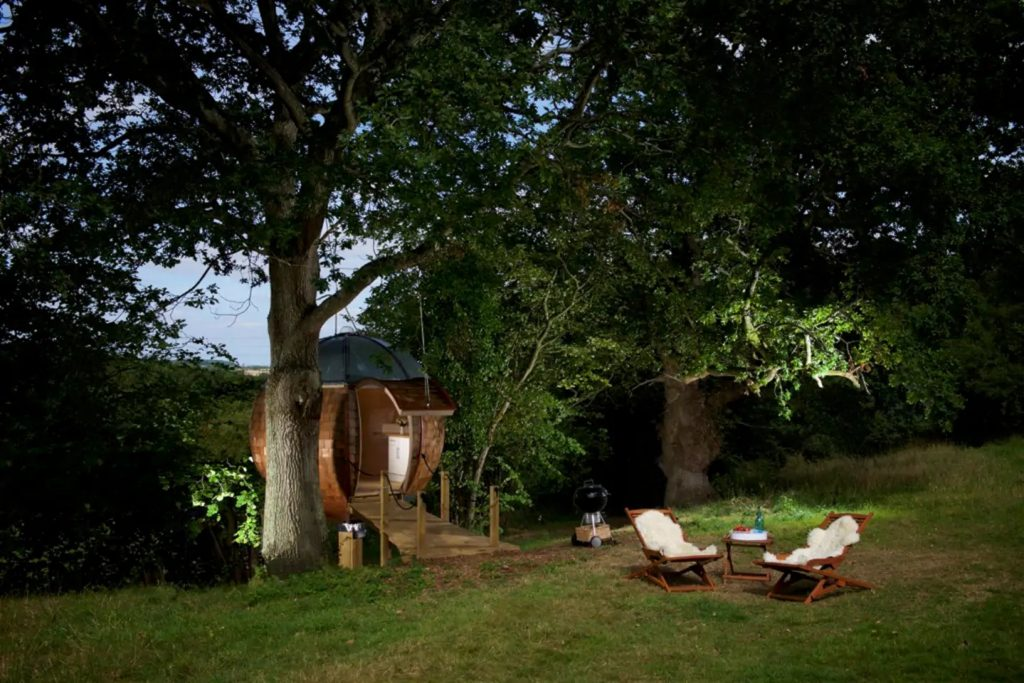 Floating Tree Sphere - Unique Dorset Airbnb