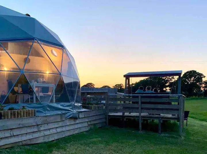 Geodome Glamping Dorset