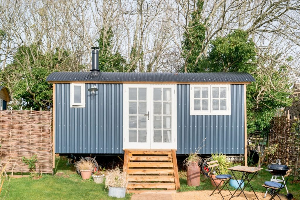 Luxury Shepherds Hut Unique Airbnb Dorset