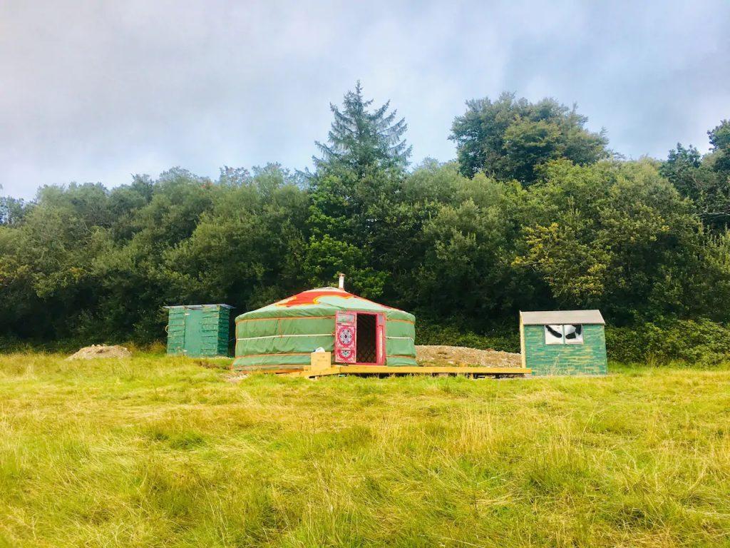Mongolian Yurt Airbnb Dorset