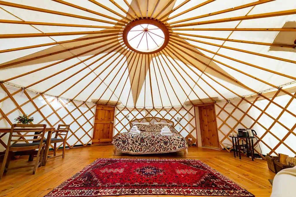 Russet Yurt Bridport