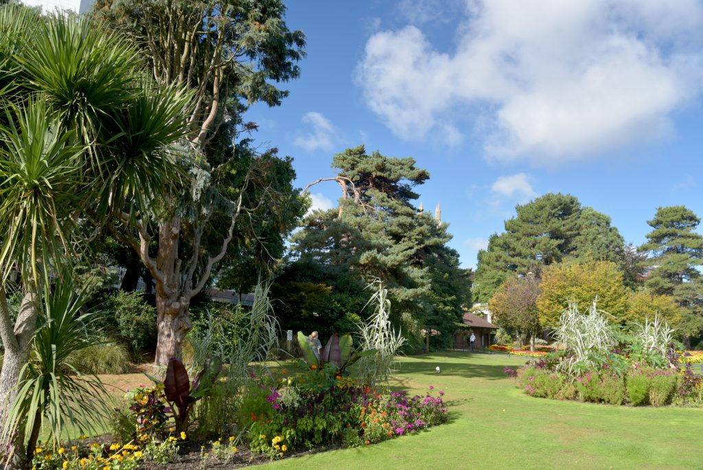 Lower gardens, Bournemouth