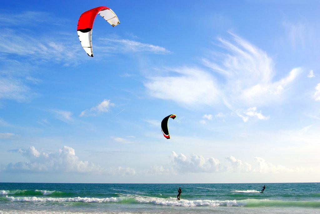 kitesurfing poole harbour