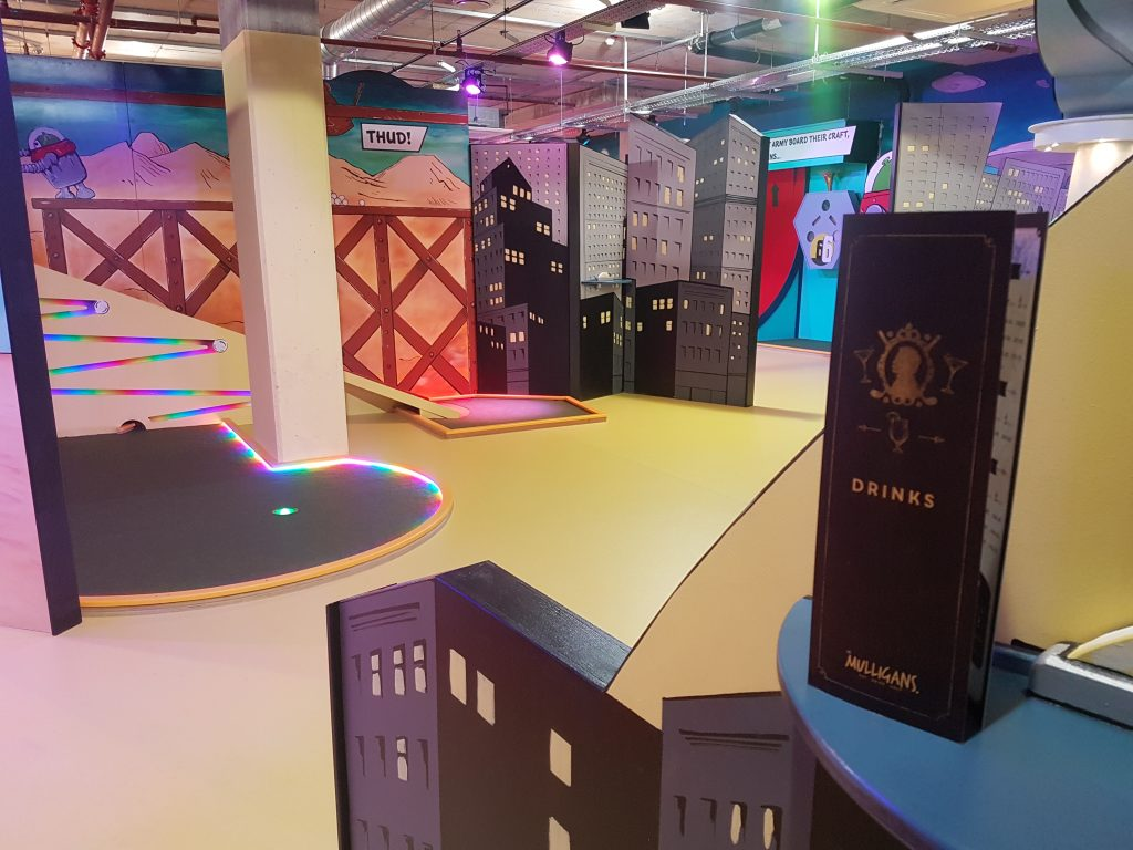 Mr Mulligans Indoor Golf - things to do in dorset in the rain