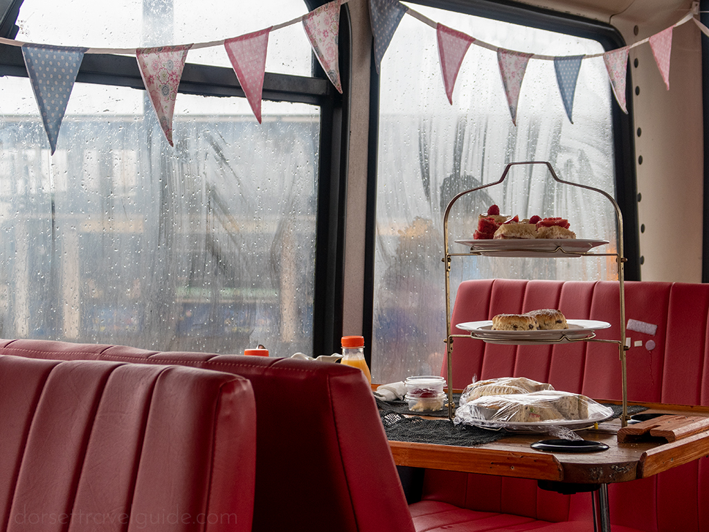 afternoon tea bus bournemouth
