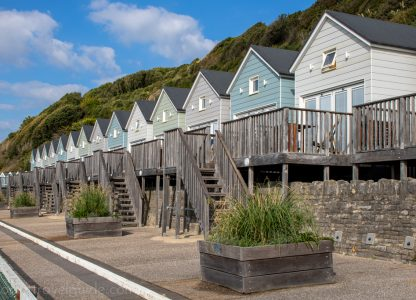 Bournemouth Beach Lodges: Sleep by the Sea in a Beautiful Beach Hut!