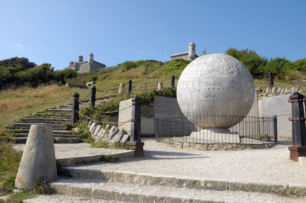 Castles in Dorset - Durlston Globe and Country Park