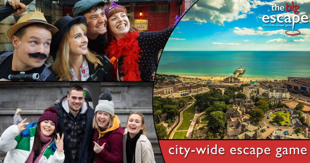 Bournemouth The Big Escape city-wide escape room