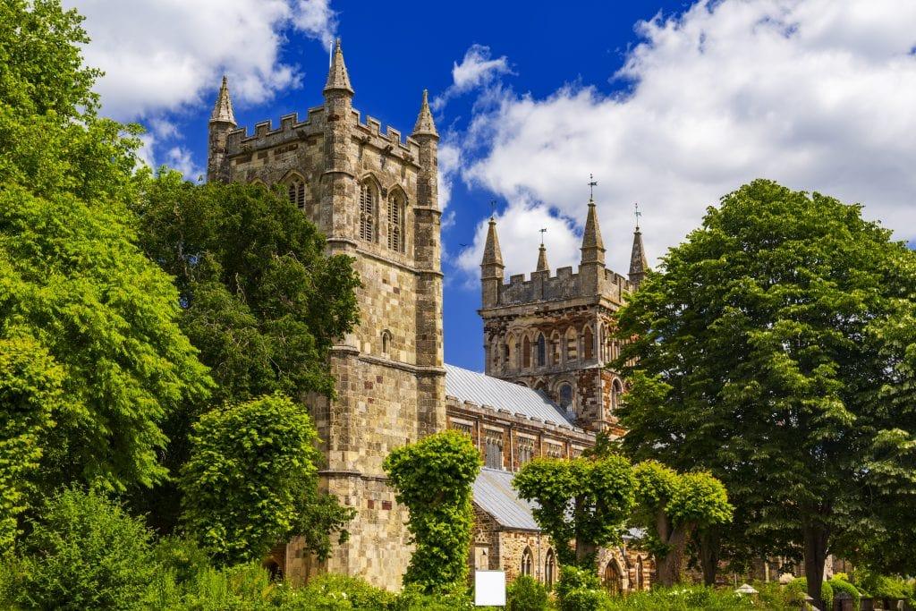 Wimborne Minster Church in Dorset