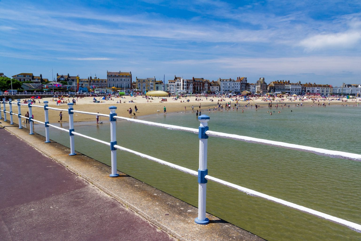 Weymouth is one of the most popular seaside towns in dorset