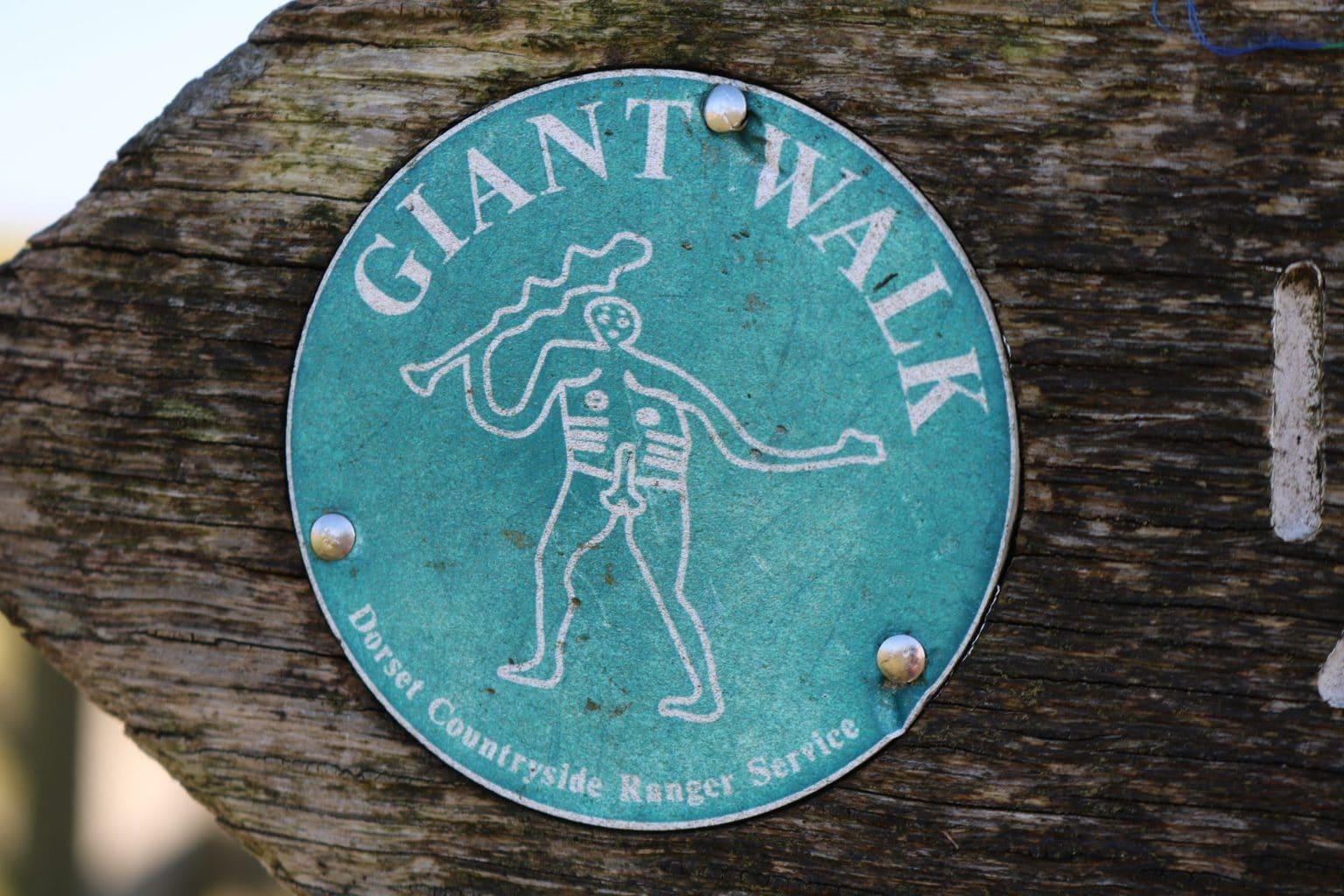 Cerne Abbas Giant Walk Waymarker