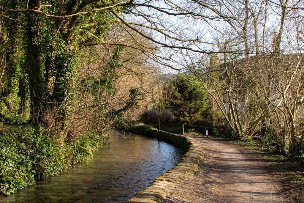 River Walk in Cerne Abbas Dorset