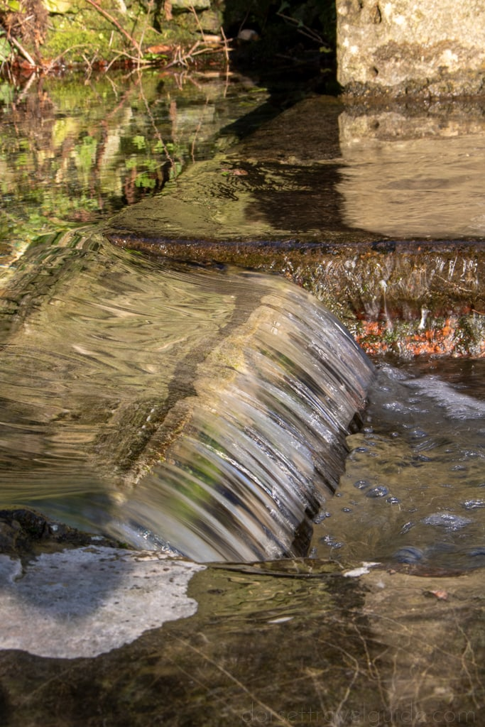 Mini waterfall at St Augustines Well