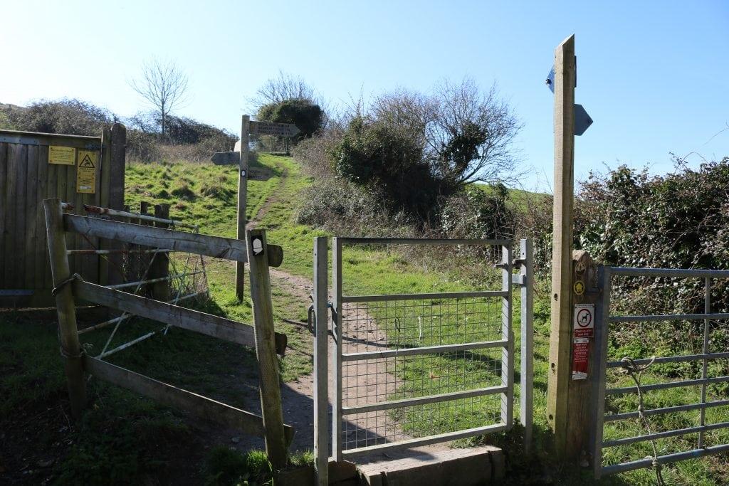 Lulworth Cove walk
