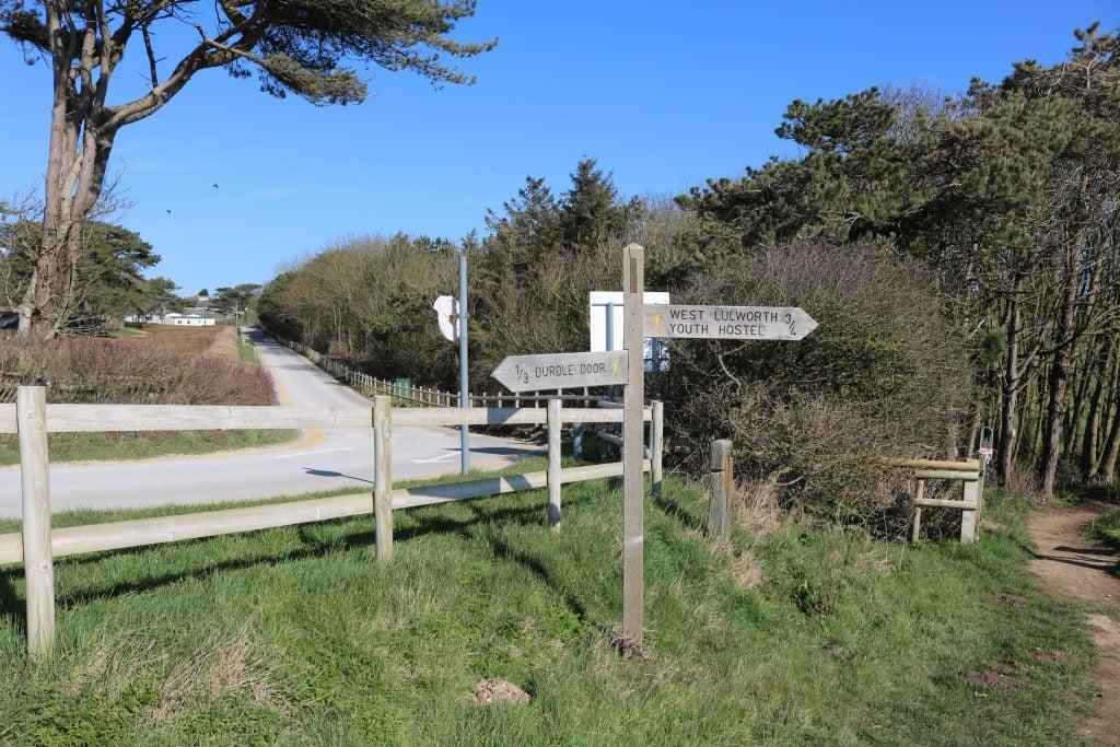 Durdle Door to Lulworth Cove walk