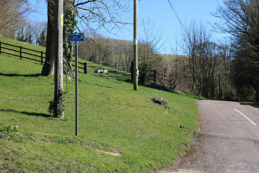 Hardy Monument to Littlebredy Walk Dorchester Dorset