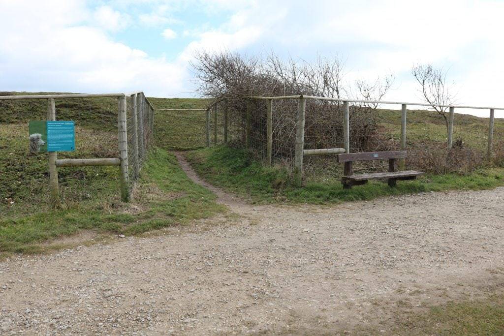 Double Dykes iron age fortifications