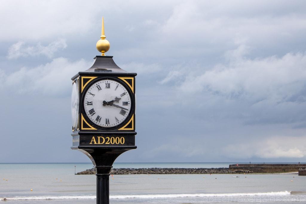 Clock Tower in Lyme Regis