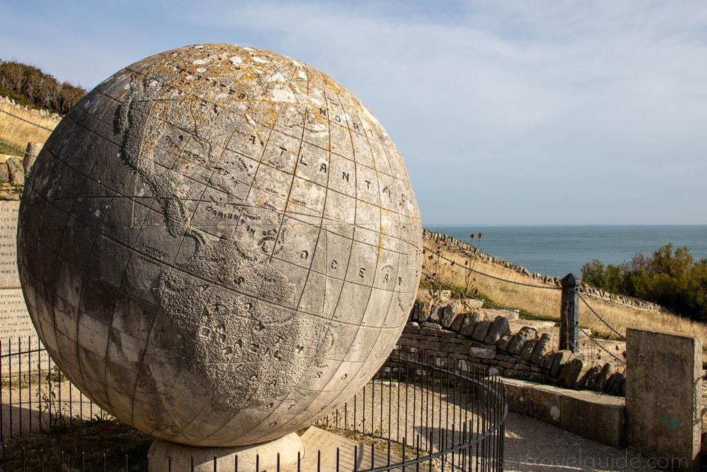 Stone Globe at Durlston Swanage
