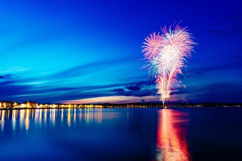 Weymouth Bay Fireworks